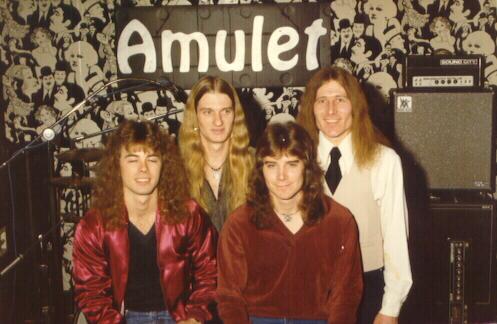 Rare AMULET gig photo