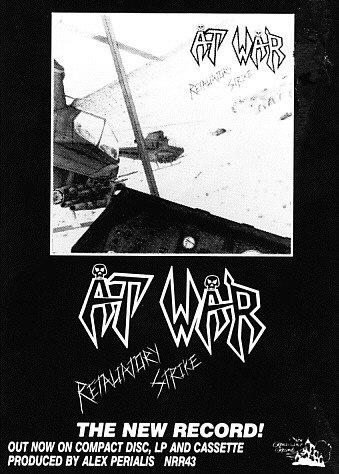 AT WAR ad