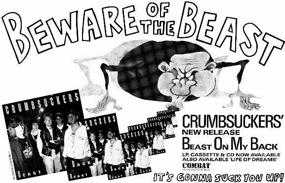 CRUMBSUCKERS Beast ad