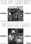 Ludichrist & Death ad (inside cover)