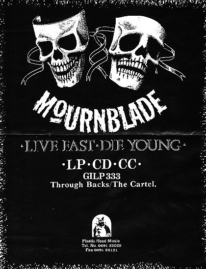 Mournblade 1988 ad