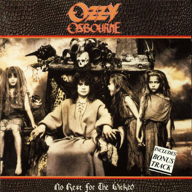 ozzy osbourne logo. OZZY OSBOURNE – No Rest for
