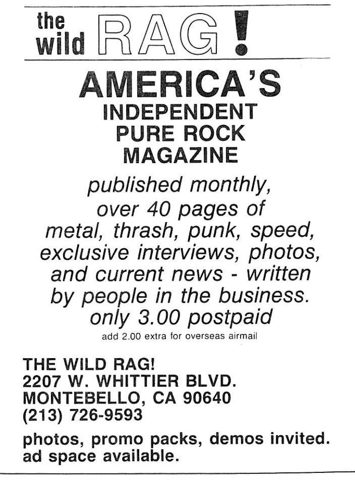 wild rag ad