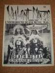 US zine Violent Noize first issue, April 1986