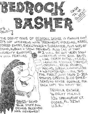 Bedrock Basher ad