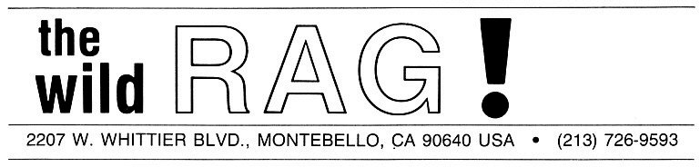 The Wild Rag logo (US CA.)