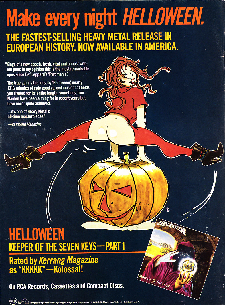 helloween keeper of the seven keys tabs