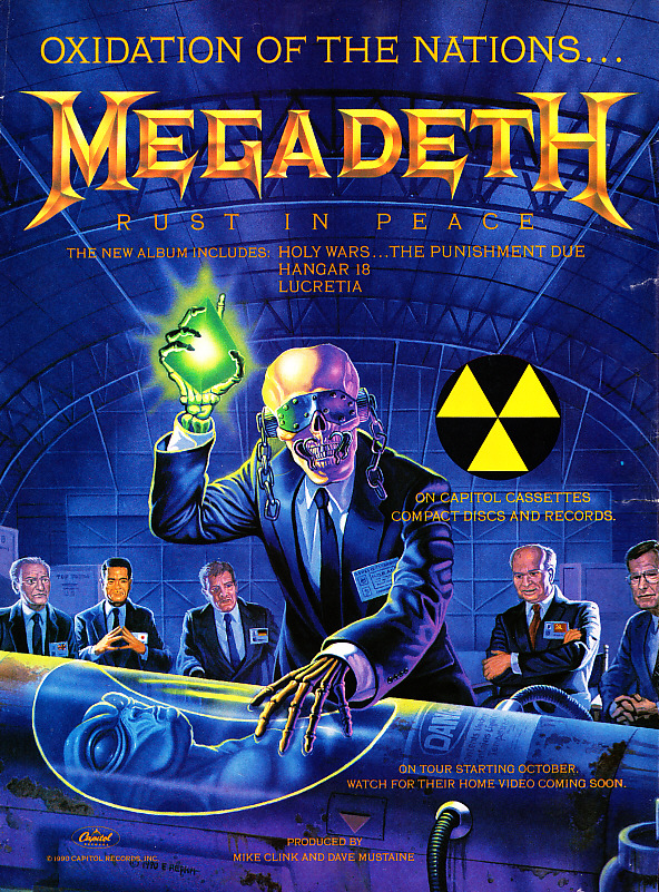 Megadeth Wallpaper Rust In Peace Candy
