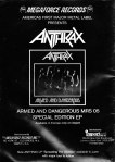 Anthrax - Armed & Dangerous AD