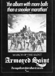 Armored Saint - Ad
