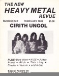 Heavy Metal Revue (run by Brian Slagel pre Metal Blade)