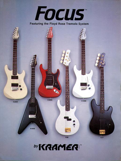 Vintage Kramer Guitar Ad
