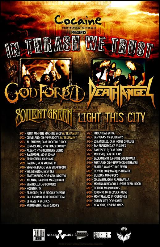In Thrash We Trust Tour