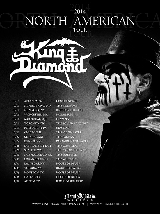 king-diamond-tour-2014