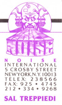Noise Business Card