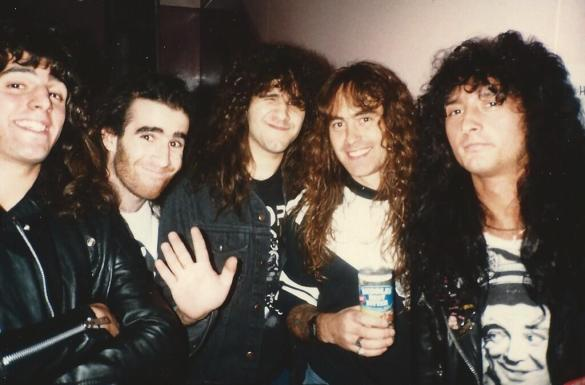 ANTHRAX with Steve Harris from IRON MAIDEN