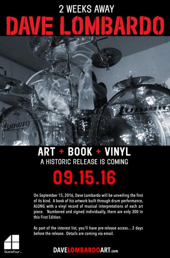 Dave Lombardo Book